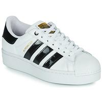 Boty Ženy Nízké tenisky adidas Originals SUPERSTAR BOLD W Bílá / Černá / Lakovaná