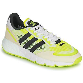 Boty Muži Nízké tenisky adidas Originals ZX 1K BOOST Bílá / Žlutá