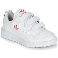 Boty Dívčí Nízké tenisky adidas Originals NY 90  CF C Bílá / Růžová