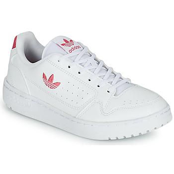 Boty Dívčí Nízké tenisky adidas Originals NY 90 J Bílá