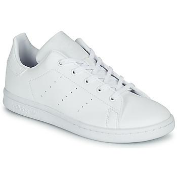 Boty Děti Nízké tenisky adidas Originals STAN SMITH C Bílá