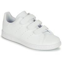 Boty Děti Nízké tenisky adidas Originals STAN SMITH CF C Bílá
