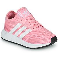Boty Dívčí Nízké tenisky adidas Originals SWIFT RUN X C Růžová