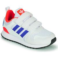 Boty Děti Nízké tenisky adidas Originals ZX 700 HD CF C Modrá / Bílá / Červená