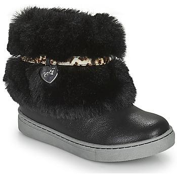 Boty Dívčí Kotníkové boty Primigi B&G LUX Černá