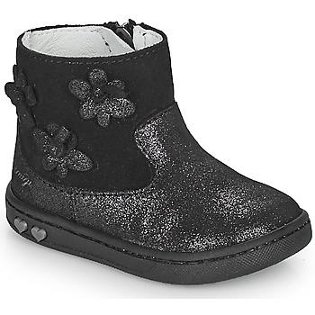 Boty Dívčí Kotníkové boty Primigi BABY LIKE Černá