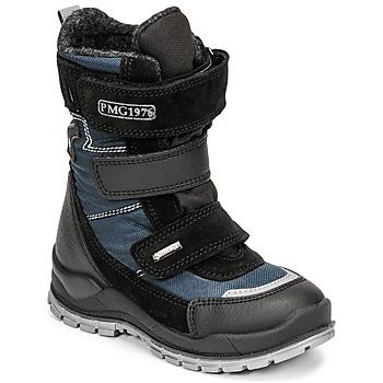 Boty Chlapecké Zimní boty Primigi HANS GTX Černá / Modrá
