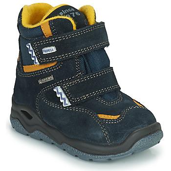 Boty Chlapecké Zimní boty Primigi GARY GTX Tmavě modrá / Žlutá