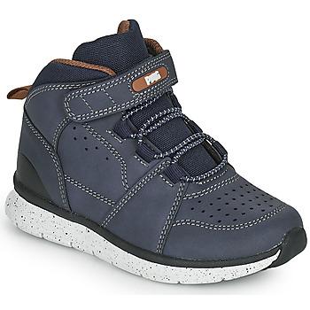 Boty Chlapecké Kotníkové boty Primigi B&G TIMBY Tmavě modrá