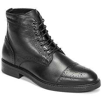 Boty Muži Kotníkové boty Selected BROGUE Černá