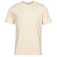 Textil Muži Trička s krátkým rukávem Scotch & Soda GRAPHIC LOGO Béžová