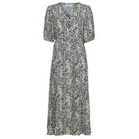Textil Ženy Společenské šaty See U Soon 21221123 Tmavě modrá / Bílá