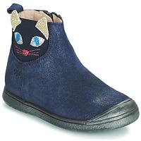 Boty Dívčí Kotníkové boty Acebo's 3159SU-MARINO Tmavě modrá