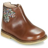 Boty Dívčí Kotníkové boty Acebo's 3202-CUERO-I Hnědá