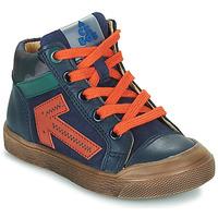 Boty Chlapecké Kotníkové tenisky Acebo's 5567-MARINO-J Tmavě modrá