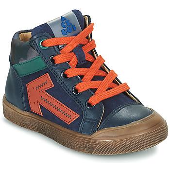 Boty Chlapecké Kotníkové tenisky Acebo's 5567-MARINO-I Tmavě modrá