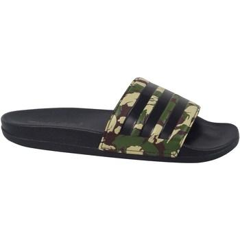 Boty Muži pantofle adidas Originals Adilette Comfort Slides Zelené, Béžové