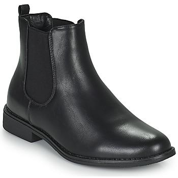 Boty Ženy Kotníkové boty Moony Mood PIRYL Černá