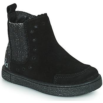Boty Dívčí Kotníkové boty Mod'8 BLANOU Černá / Třpytivý