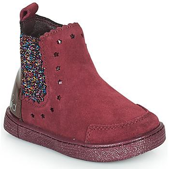 Boty Dívčí Kotníkové boty Mod'8 BLANOU Bordó