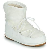 Boty Ženy Zimní boty Moon Boot MOON BOOT MONACO LOW FUR WP 2 Bílá