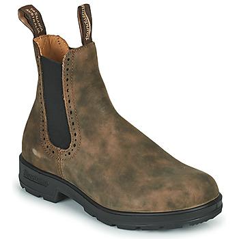 Boty Ženy Kotníkové boty Blundstone ORIGINAL HIGH TOP CHELSEA BOOTS 1351 Hnědá
