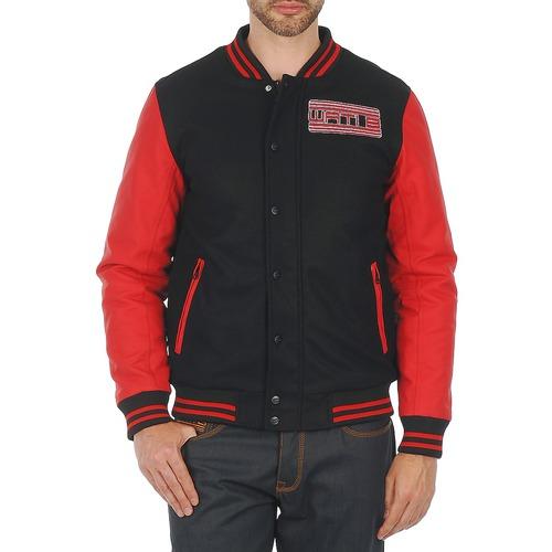 Textil Muži Bundy Wati B OUTERWEAR JACKET Černá / Červená