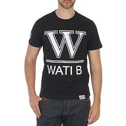 Textil Muži Trička s krátkým rukávem Wati B TEE Černá