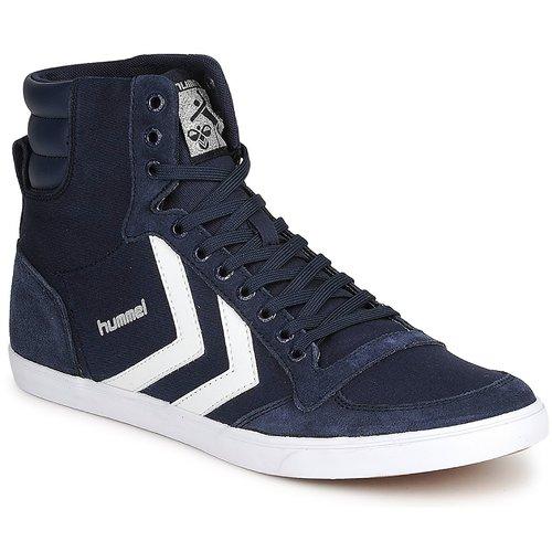 Boty Kotníkové tenisky Hummel TEN STAR HIGH CANVAS Tmavě modrá