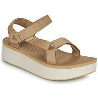 Boty Ženy Sandály Teva Flatform Universal Béžová / Bílá
