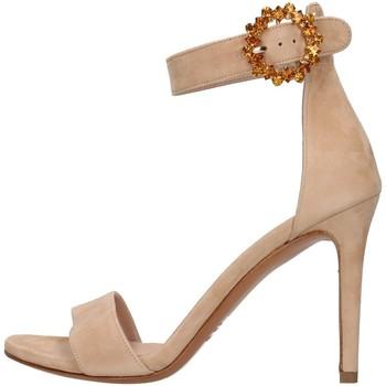 Boty Ženy Sandály Albano 4166 Béžová