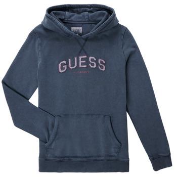 Textil Chlapecké Mikiny Guess TRAMI Modrá