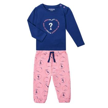 Textil Dívčí Set Guess ANISSA Růžová / Modrá