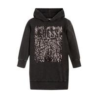 Textil Dívčí Krátké šaty Guess FARRI Černá