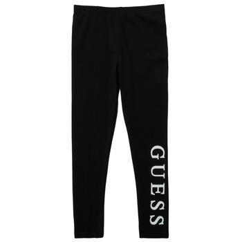 Textil Dívčí Legíny Guess DRASSI Černá