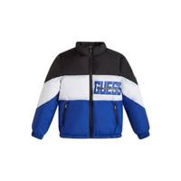 Textil Chlapecké Prošívané bundy Guess THABITHA Modrá