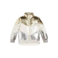 Textil Dívčí Prošívané bundy Guess FRILLY Bílá / Šedá / Zlatá