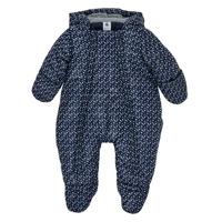 Textil Chlapecké Prošívané bundy Petit Bateau FRENNY Tmavě modrá / Bílá