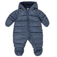 Textil Chlapecké Prošívané bundy Petit Bateau TECHA Modrá / Bílá