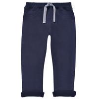 Textil Chlapecké Teplákové kalhoty Petit Bateau TERRI Šedá