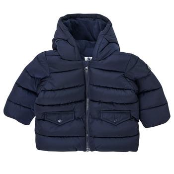 Textil Chlapecké Prošívané bundy Petit Bateau COLINE Modrá
