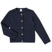 Textil Dívčí Svetry / Svetry se zapínáním Petit Bateau COLYNNE Modrá