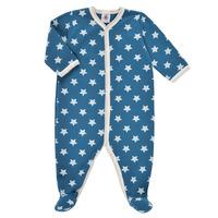 Textil Chlapecké Pyžamo / Noční košile Petit Bateau SOLARIE Modrá / Bílá