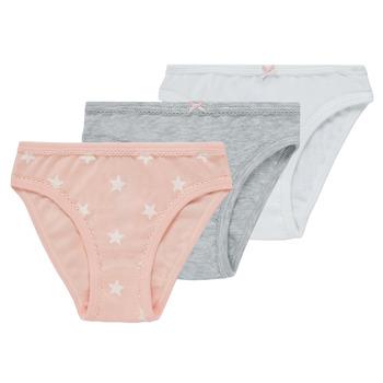 Spodní prádlo Dívčí Kalhotky Petit Bateau CEMENT