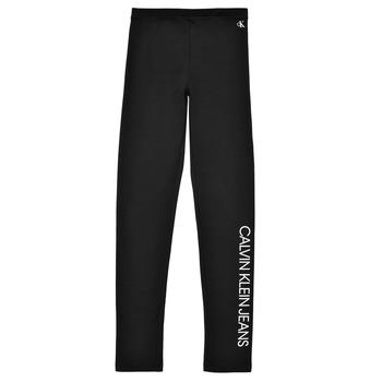 Textil Dívčí Legíny Calvin Klein Jeans MERCA Černá