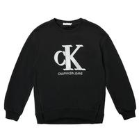 Textil Dívčí Mikiny Calvin Klein Jeans POLLI Černá