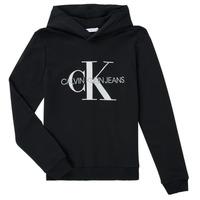 Textil Děti Mikiny Calvin Klein Jeans TRINIDA Černá