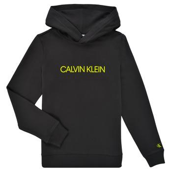 Textil Děti Mikiny Calvin Klein Jeans ZOPLINA Černá