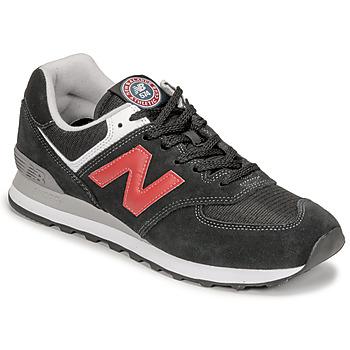 Boty Muži Nízké tenisky New Balance 574 Černá / Červená