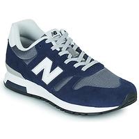 Boty Muži Nízké tenisky New Balance 565 Modrá / Šedá
